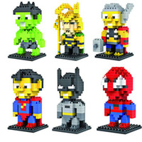 LOZ Diamond blocks model The Avengers building kids toys edu...