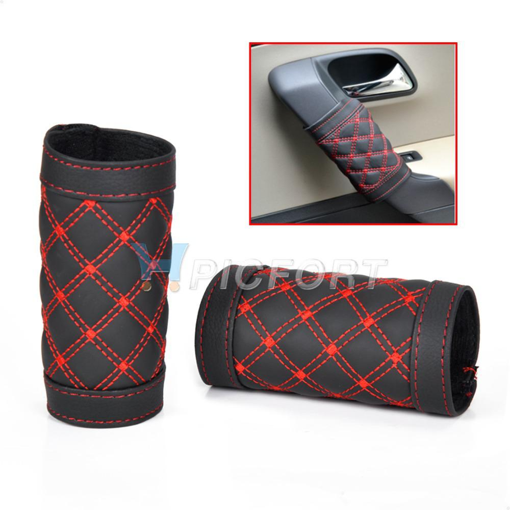 2017 new car interior door handle protective cover sleeve case ca01933 from lin669. Black Bedroom Furniture Sets. Home Design Ideas