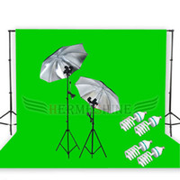 Wholesale Tracking Background Support m x m Green Screen Light Kit Retail AKT037
