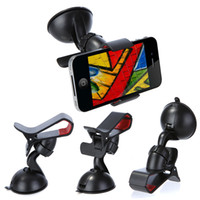 Wholesale Universal Windshield Rotating Car Mount Bracket Holder Stand for iPhone GPS MP4 tablet K870