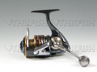 Cheap Sale! SW5000 11+1BB Spinning Fishing Reels Aluminum Spool Handle Metal Freshwater Saltwater Reels
