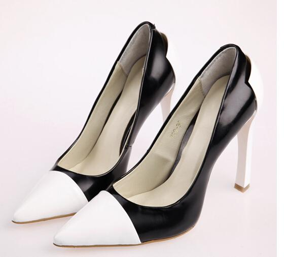 trendsepatupria black and white dress shoes for images