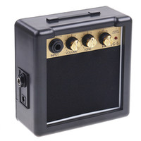 0-5 W electric guitars amps - PG W Electric Guitar Amp Amplifier Speaker with Volume Tone Control I72