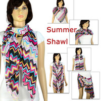 Wholesale 2013 best selling scarf shawl Funky wave spring and summer scarf shawl for women NL