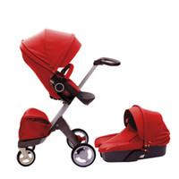 Wholesale 2014 Baby Stroller Xplory stokke brand v3 High landscape pushchairs Multicolor optional wheels