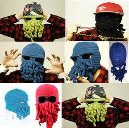 adult trade with best reviews - Hot ! octopus wool hat Foreign trade sale product is popular all over the world Octopus wool hat