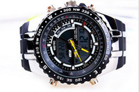 Cheap New arrival Fashion Military watches Sports classic jelly Double movement clock men Wristwatches