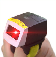 Wholesale UL FS01 D Laser Bluetooth Wearable Ring style Barcode Scanner For Android App
