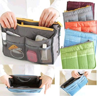 Wholesale Women Travel Insert Handbag Organiser Purse Large liner Organizer Bag Amazing DH04