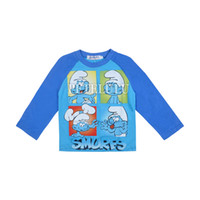 Cheap new cute baby shirt clothing kids t shirts with boys long sleeve cotton clothes spring boys tees children cartoon custome clothes freeship