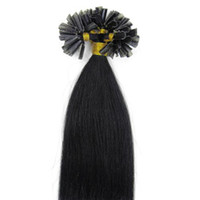 Wholesale Pre Bonded Human Hair Extensions Brazilian Human Remy Hair Weave One Soft and No Shedding Hair Products ST058