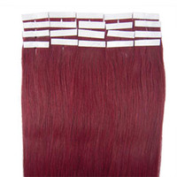 Wholesale Skin Weft Extension Brazilian Real Human Hair Light Color For Option One Discount Hair Products ST047