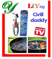 Wholesale Grill Daddy barbeque cleaning brush tools accessories BBQ for restaurant FDA approved plastic