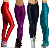 Wholesale Womens Sexy High Waist Tights YOGA Sport Running Pants Fitness Leggings