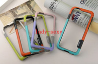 Wholesale Cheap The New Cell Phone Case For iphone Small Pure And Fresh Double Color TPU Border inch