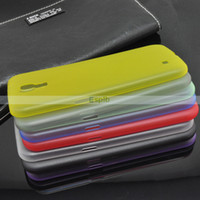 Silicone For Samsung Accept -thin Frosted Matte Clear Soft TPU Gel Case Cover For Samsung Galaxy Mega 6.3 i9200