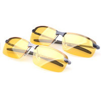 Resin Lenses night vision glasses - Night vision Polarized Sunglasses UV400 lense Glasses HIGH Quality alloy SUN Glasses men women sunglasses