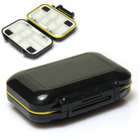 Wholesale Fly Fishing Lures Hook Box Waterproof Compartments Fish Tackle Accesory