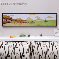 Cheap Modern Landscape Painting Printing Frame Canvas Home Decoration Art Wall