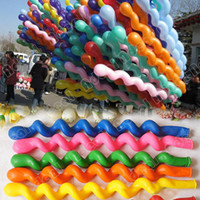 Wholesale New Giant Latex Rubber Helium Spiral Balloons for Wedding Birthday Party Gift