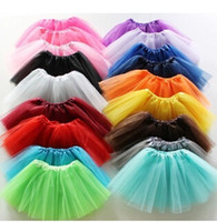 ballet animals - candy color kids tutu skirt dance dresses kids baby bubble skirt girl tutu dress ballet skirt pettiskirt clothes colors