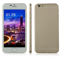 Wholesale 4 inch IPS Android Quad Core MTK6582 Tengda I6 I6 Plus Cell Phone WIFI G Single Micro Sim Card x pixels Unlocked