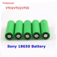 Wholesale Original battery vtc4 battery vtc3 battery vtc5 A grade battery mAh V rechargeable So ny VTC lithium battery