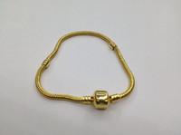 Gold Plated Pandora Bracelet