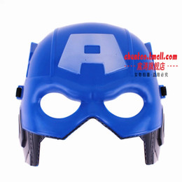 Wholesale Batman Mask with Elastic Band for All Saints Day Funny Toy Halloween Masquerade Blue Party Superman