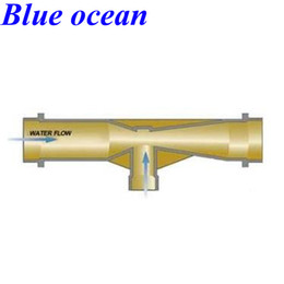 Wholesale BO V inch Gas and water mixer Ozone injector Venturi Acid resistance alkali resistance oxidation resistance jet device mixer
