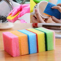 Wholesale 5pcs Sponge Home Bar Kitchen Cleaning Products Random Color Dish Towel Tools NEW Drop Shipping HG
