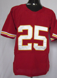 Wholesale 2015 Men s Game Kansas City American Football Jerseys Team Color Home Red Road White Stitched Jersey