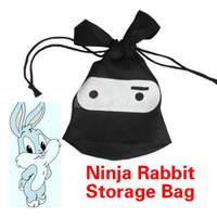 Wholesale All Purpose Multifunction Travel Lunch Ninja Rabbit Pouch Laundry Storage Bag K5