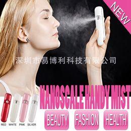 Wholesale usb charging mini portable nano spray handy mist