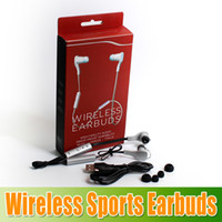 Wholesale New Arrival HS06 Wireless Bluetooth Headset Stereo Earbuds Sports Bluetooth Earphone Headphones with Control talk and Microphone churchill