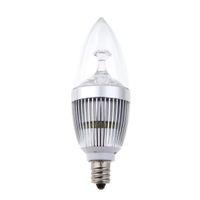 Wholesale led e14 Led Lamp Bulb Light W Chandelier Candelabra Candle White V High Bright LM H11278