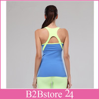 Women Yoga Vest Sleeveless T- shirts Breathable Tank Top Yoga...