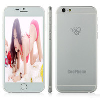 google - 4 inch Goophone i6 Metal Cover Dual Core MTK6572 G GB Android Google Play G WCDMA Single SIM Smart Phone with Sealed box