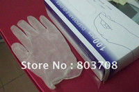 Wholesale Vinyl gloves Disposable Vinyl gloves industry exam gloves PVC protection glaze gloves ID LG15