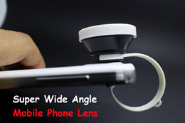 Universal 0.4x Supper Wide-Angle camera lens for iPhone 4s 5 5s 5c 6s Samsung GALAXY S3 S4 S5 Note 2 3 all mobile phone lens 1pc