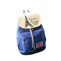 Wholesale S5Q Cute Women Girl Canvas Shoulder Bag Travel Satchel School Backpack Rucksack AAADUI