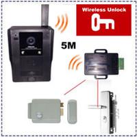 Wholesale Wireless Touch Key Video Door Phone Doorbell With IR Door Camera Home Security Entry Intercom