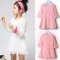 beautiful dress - Baby Girl s Kids Children Clothing Beautiful Girls Lace Dress Princess Mini Dresses Clothes SV001277