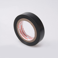 adhesive insulation tape - 1pc mm PVC Electrical Tape Insulation Adhesive Tape Black Drop Shipping BI