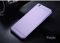 Wholesale iPhone6 inch inch Transparent Case soft Plastic Crystal Clear Luxury Protective Cover Phone Cases For iPhone
