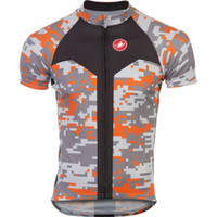 Wholesale new coming Castelli Competitive Cyclist Digi Camo Team Je professional cycling shorts sleeve summer Cycling clothing