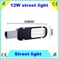 Wholesale 12W Street Lights V V AC85 V led street light IP65 outdoor lighting lamps fixture high intensity Degrees CE ROHS Lm