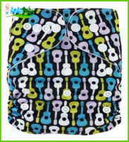 Wholesale New Coming Prefold Cloth diaper With Microfiber Inserts Washable Baby Cloth Nappies AnAnbaby