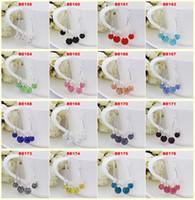 Wholesale Top Quality Austrian Rhinestone Crystal Disco Ball Shamballa Long Dangle Drop Earring Jewelry Gift for Women Nickel Free Lower Price