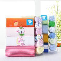 Animal Feed - Baby Bodysuits Handkerchief Sets Newborn Feeding Towel Bibs Shortalls Overall Babywear